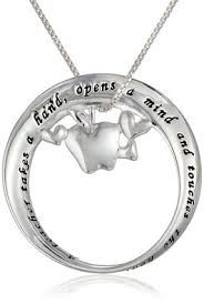 """Teachers Valentine Gift Ideas Sterling Silver """"A Teacher"""" Mobius Circle with Apple Pendant Necklace, 18″ A Teacher Takes A Hand , Opens A Mind and Touches. Your teacher will love this and will wear it with pride. http://awsomegadgetsandtoysforgirlsandboys.com/teachers-valentine-gift-ideas/ Teachers Valentine Gift Ideas"""