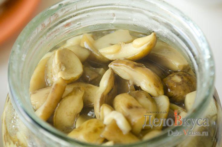 мариновать польские грибы рецепт