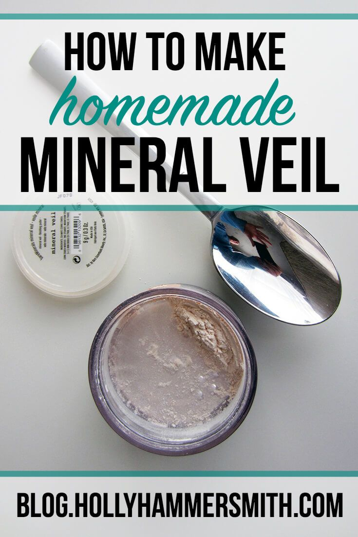 How to Make Homemade Mineral Veil