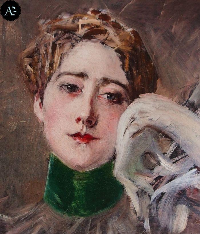 Giovanni Boldini | La principessa d'Isenburg-Birsten