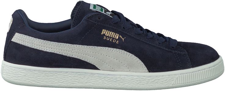 toffe Blauwe Puma Sneakers SUEDE CLASSIC