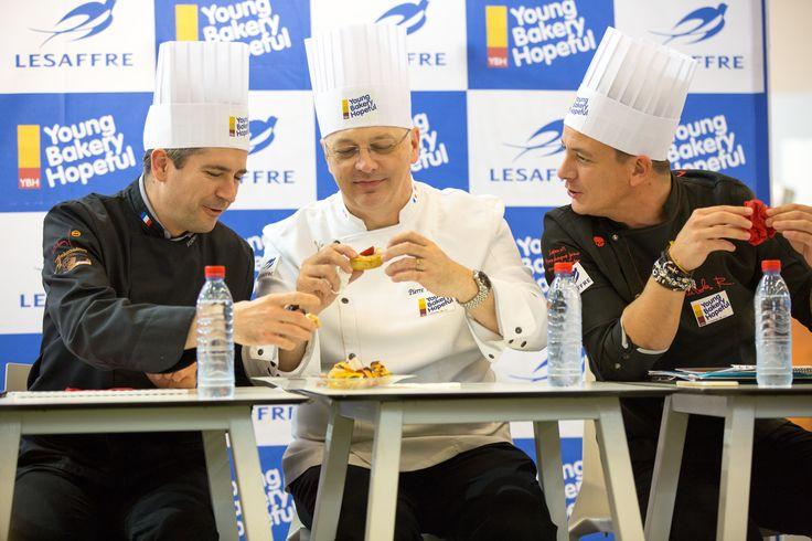 Jury during YBH competition : Mickael JAHAN, Pierre ZIMMERMANN & Nicolas RIEFFEL #YBH #lesaffre