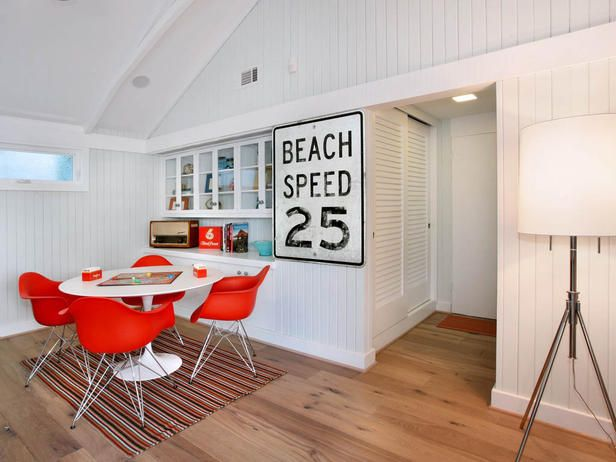 Not Your Average Beach House - 20+ Ways to Decorate Your Home With Neon Colors on HGTV