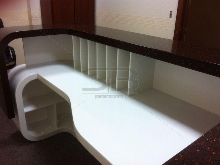 Барные стойки из искусственного камня, столы - купить недорого у производителя - SB STUDIO
