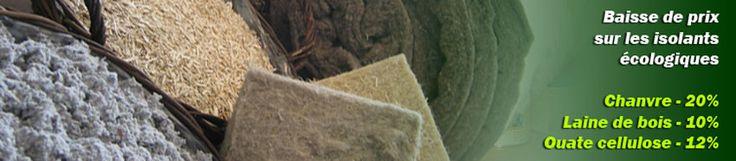 Les matériaux d'isolation écologiques