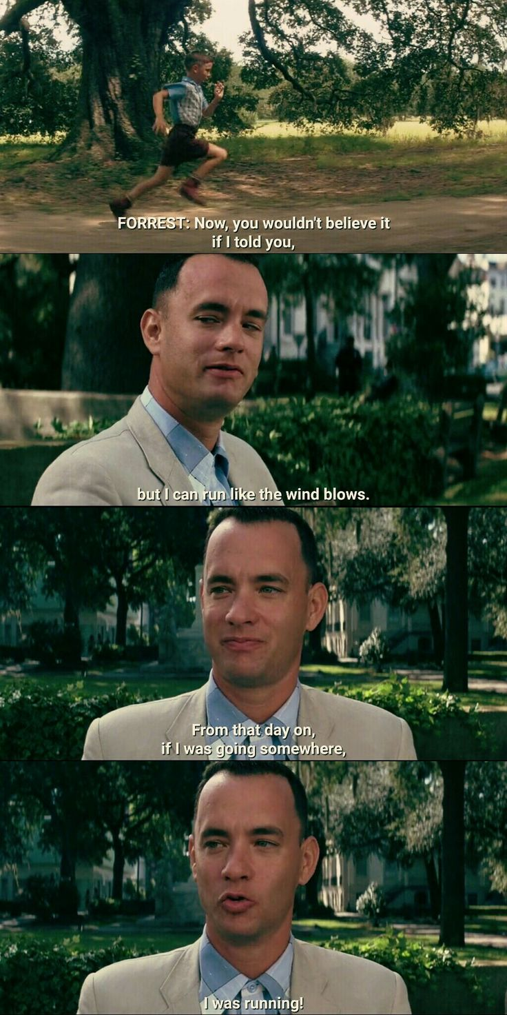 My favorite quote! Forrest Gump