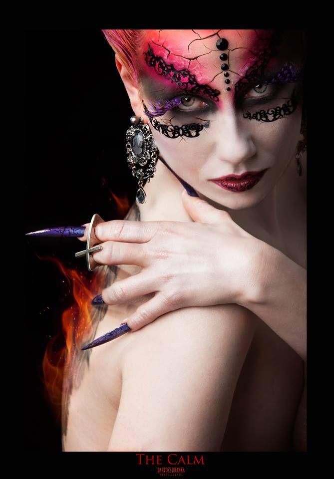 #Cassandra #model #hair #makeup #stylisation Art Work Training Centere