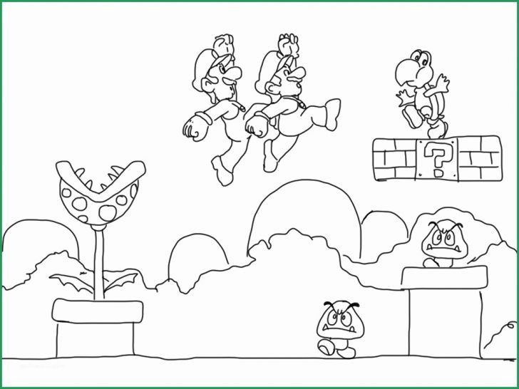 Super Mario Bros Coloring Pages Video Game Coloring Pages Wonderfully Super Mario Bros Coloring In 2020 Super Mario Coloring Pages Mario Coloring Pages Lego Coloring Pages
