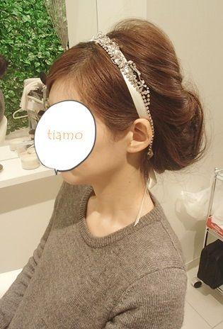 可愛い花嫁さまの素敵チェンジ3スタイル♡リハ編|大人可愛いブライダルヘアメイク『tiamo』の結婚カタログ