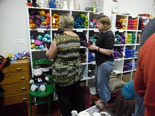 Holland Road Yarn Company by WHSKR, via Flickr  Great yarn shop in Petone