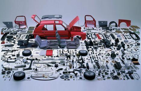 Fancy - Car in parts
