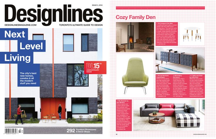 RADform was featured in the summer 2016 issue of Designlines Magazine.  #radform #press #media #designlines #homedecor #interiordesign #moderndesign