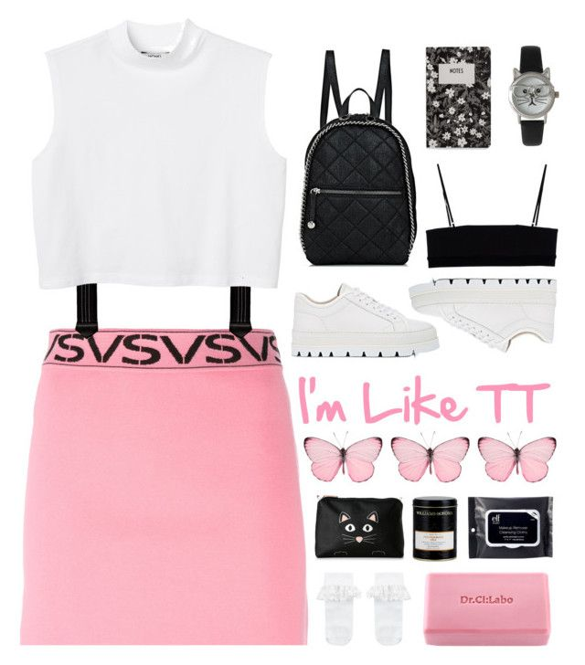 """""""Tell me that you'd be my baby~"""" by vip-beauty ❤ liked on Polyvore featuring Versus, Trafalgar, Monki, MM6 Maison Margiela, STELLA McCARTNEY, Monsoon, Dr.Ci:Labo, Stella & Max, Alexander Wang and Williams-Sonoma"""