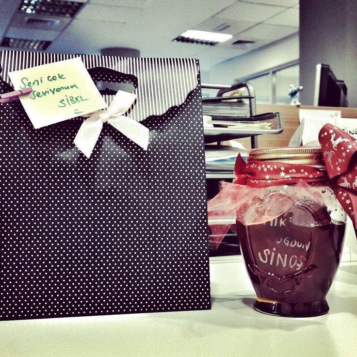 doğum günü hediyesi, birthday gift, reçel, domates reçeli