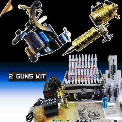 Machine Gun Power Needles Supply 40 Ink