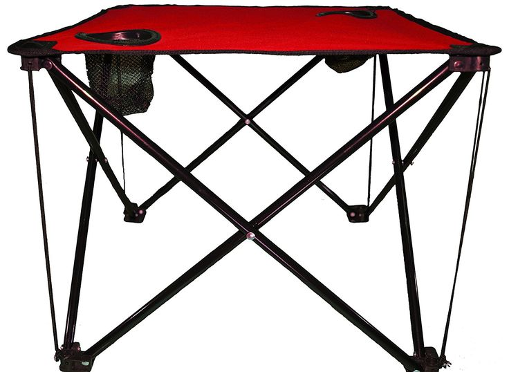 Camping Accessories APAK Goods Cardinal Red Folding Table See This Great Image