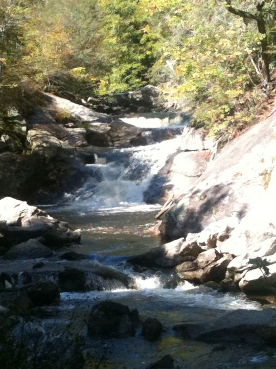 The couples retreat... Nantahala National Forest in North Carolina