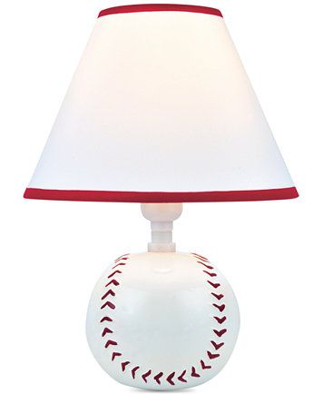 Lite Source Baseball Table Lamp | macys.com