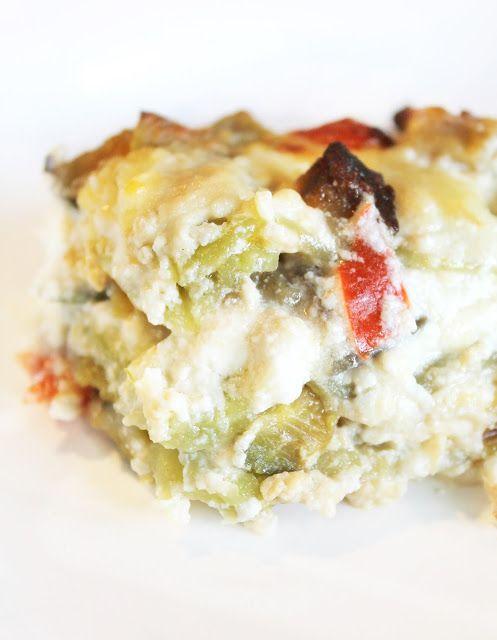 Cuor di Ciambella: Lasagne verdi con Verdure e Crema di Ricotta