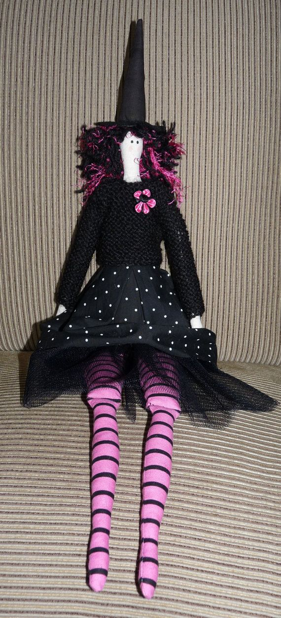 Tilda Doll Amelia the Witch by KakahiCraft on Etsy
