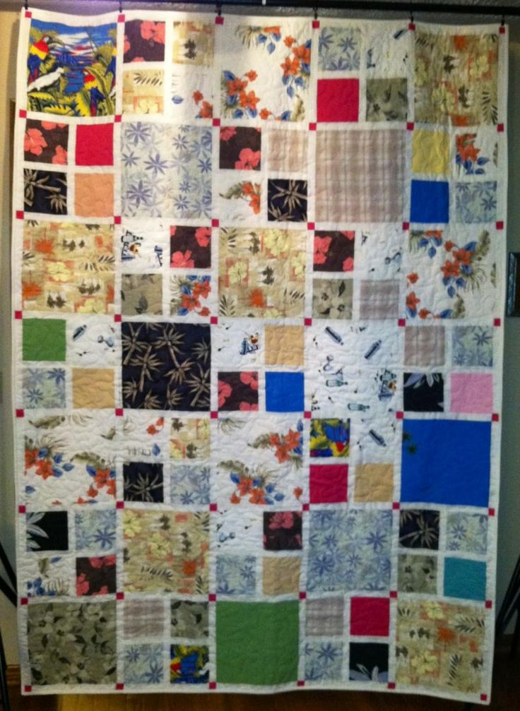 Free Easy Memory Quilt Patterns : Custom Memory Quilts - Memory Quilts from Clothing Quilting Pinterest Memories, I spy and ...