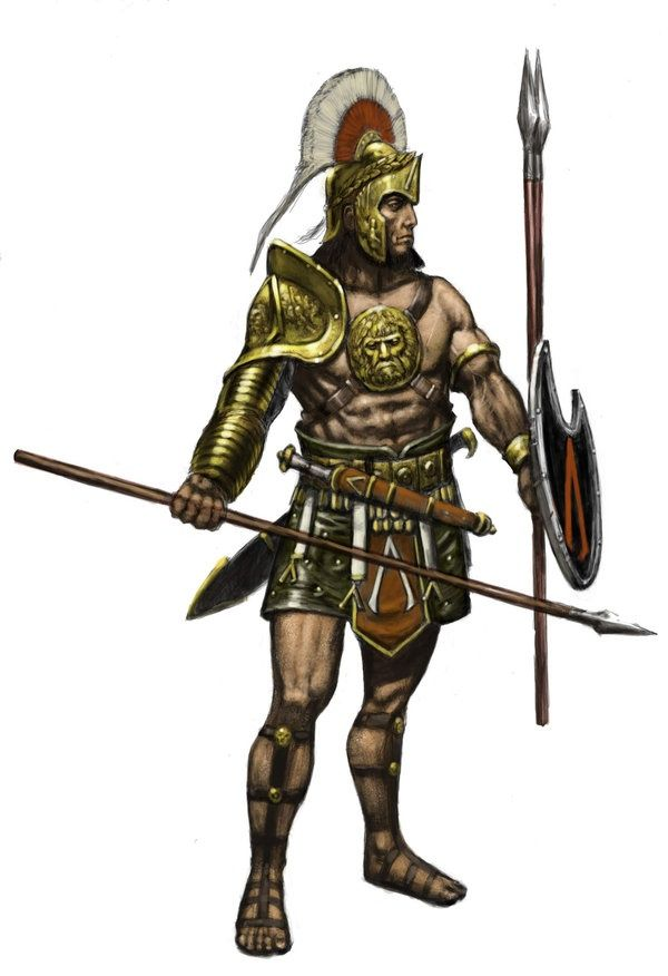 Картинки древний воин