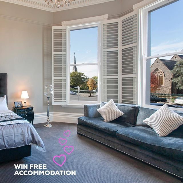 Our friends at the Ballarat Premier Apartments are giving you the chance to win a free nights accommodation in one of their beautiful suites. All you have to do is book your Valentines Day dinner online at Oscars!  Book via our website for your chance to win.  #ballarat #valentinesday  #booknow #love #oscarshotel