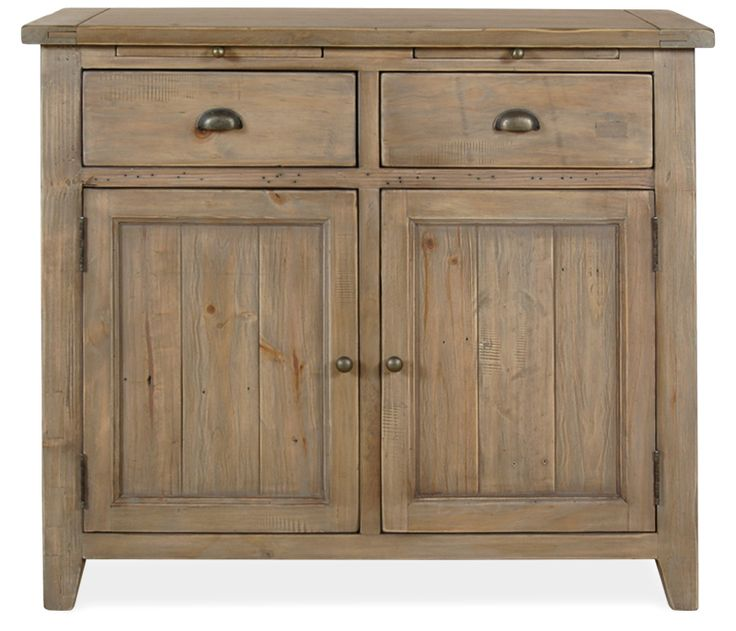 Portofino Sideboard - This Boston Interiors exclusive dining sideboard is constructed of reclaimed and re-purposed solid kiln dried pine. It is created from a jigsaw construction