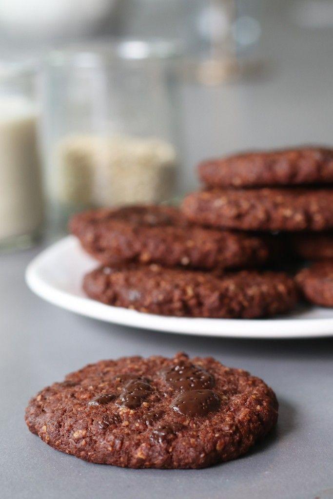 Havermout chocolade koekjes Omdat ik afgelopen zondag gespijbeld heb met Zondag Bakdag heb ik vandaag als goedmakertje een HEEL lekker, gezond en super easy koekjesrecept voor je. Deze chocolade havermoutkoeken zijn vrij van gluten en gezoet met stroop van dadels. Eigenlijk zijn er twee zoetmakers die ik standaard in de keuken heb: honing en...