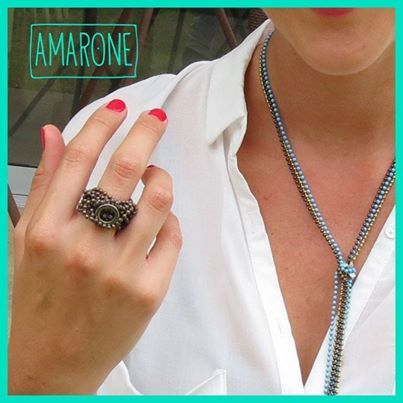 ¡#Amarone trae para ti #Accesorios únicos! Estas #JoyasDeIman son moldeables a tu estilo , inspírate e innova utilizándolas como desees.