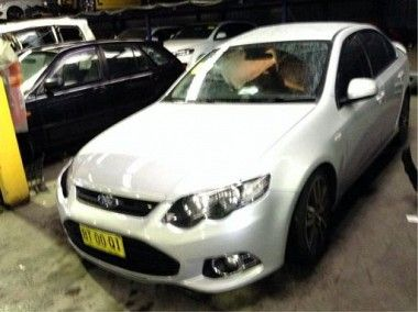 WRECKING 2012 #FORD FG MKII FALCON XR6 TURBO FOR #PARTS ONLY