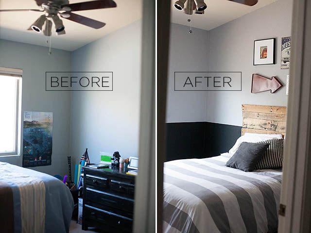 Tween Boy Room Reveal With Glidden  Boy Room Paint, Grey -2661
