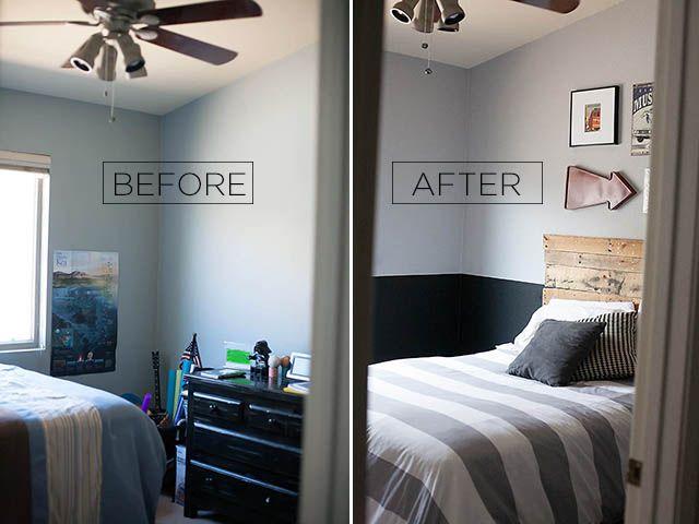 Tween Boy Room Reveal With Glidden Boy Room Paint Grey