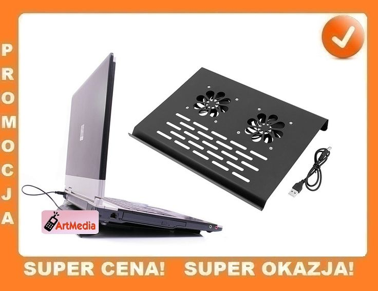 PK7 Podkładka PODSTAWKA chłodząca pod laptopa HIT
