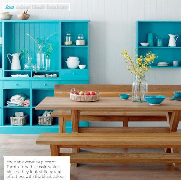 Colour Block Furniture