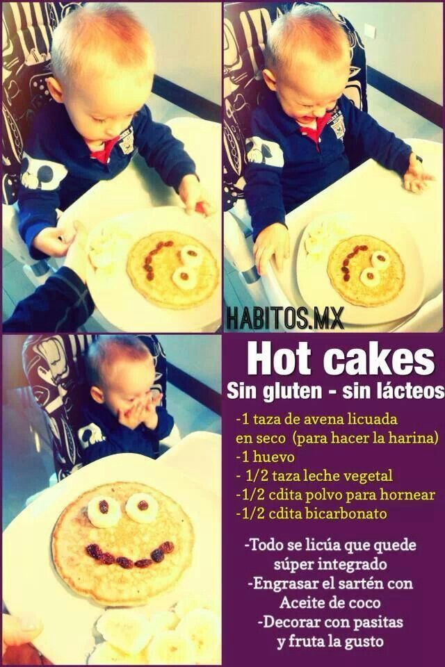 Hot cakes sin gluten