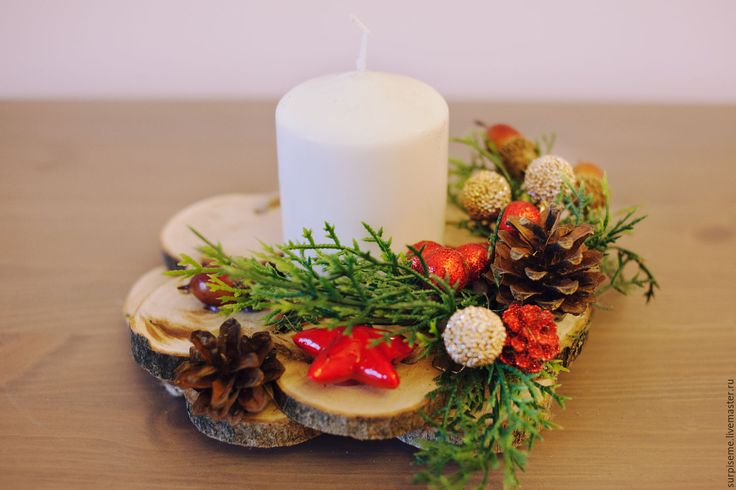Купить Праздничные подсвечники №2 - подсвечник, подсвечники, подсвечник ручной работы, подсвечник из дерева