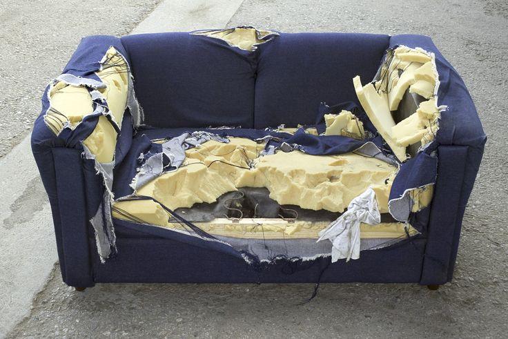 Qué hacer con un sofá viejo