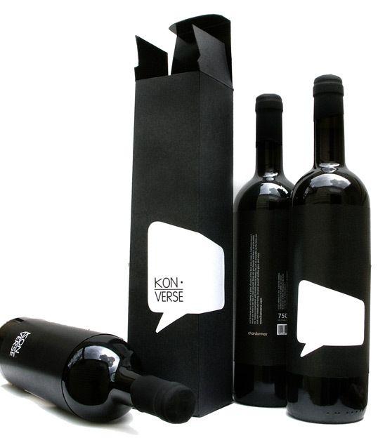 Kon-Verse Wine Bottle #Packaging