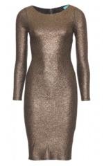 Rentdesigner Dress on Alice And Olivia   Selma Metallic Dress   Rent Designer Dresses
