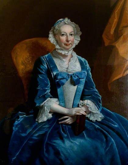 Mrs Iremonger of Wherwell Priory by Joseph Highmore, c.1745