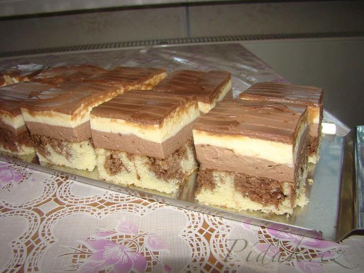 Obrázek z Recept - Tvarohovo - čokoládový zázrak