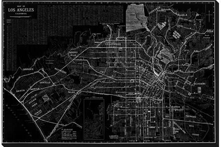 Display product reviews for PICTURE-LA MAP B&W