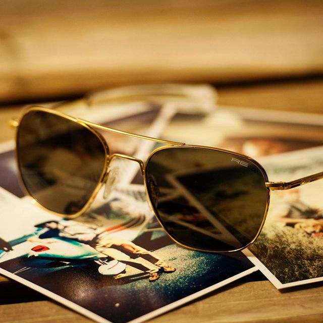 Fancy - Gold Frame Aviator Sunglasses by Randolph EngineeringFashion, Randolph Engineering, Gold Frames, Frames Aviators, Engineering Aviators, Aviators Sunglasses, Aviator Sunglasses, Ray Bans Sunglasses, Military