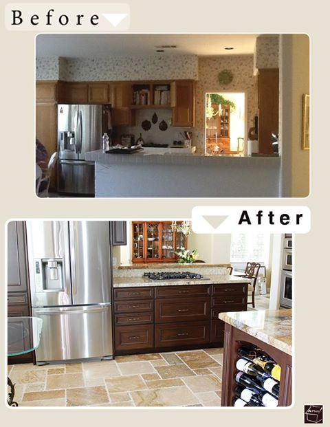 Kitchen Remodeling Ideas Before And After 25 best remodeling before & after images on pinterest | home, diy