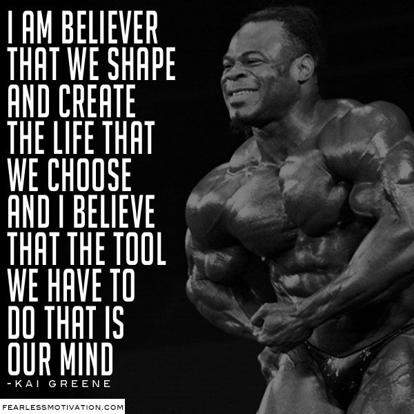 kai greene bodybuilding workout routines