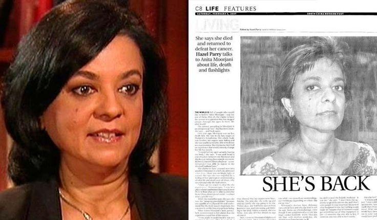 (adsbygoogle = window.adsbygoogle || []).push();   Anita Moorjani, una exitosa ejecutiva empresarial de origen indio que trabajaba en Hong Kong, en el año 2002 fue diagnosticada conlinfoma de Hodgkin, un agresivo tipo de cáncer que ataca el sistema linfático del cuerpo, ella no lo...