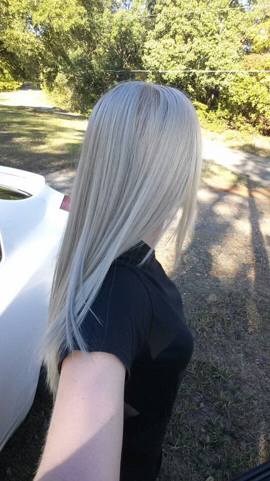 Wella Color Charm: Frosty Ash with Pale Ash Blonde toner ...