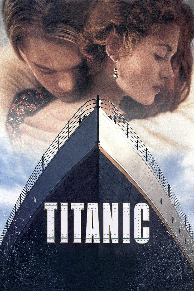 A fictionalized account of the sinking of the RMS Titanic, it stars Leonardo DiCaprio and Kate Winslet as members of different social classes who fall in love aboard the ship during its ill-fated maiden voyage. Angels the Costumiers provided costumes to this film, which went on to win an Oscar for Costume Design. http://en.wikipedia.org/wiki/Titanic_%281997_film%29