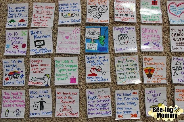 Memory Lane Diy Family Board Game Family Board Games Board Games Diy Card Games For Kids